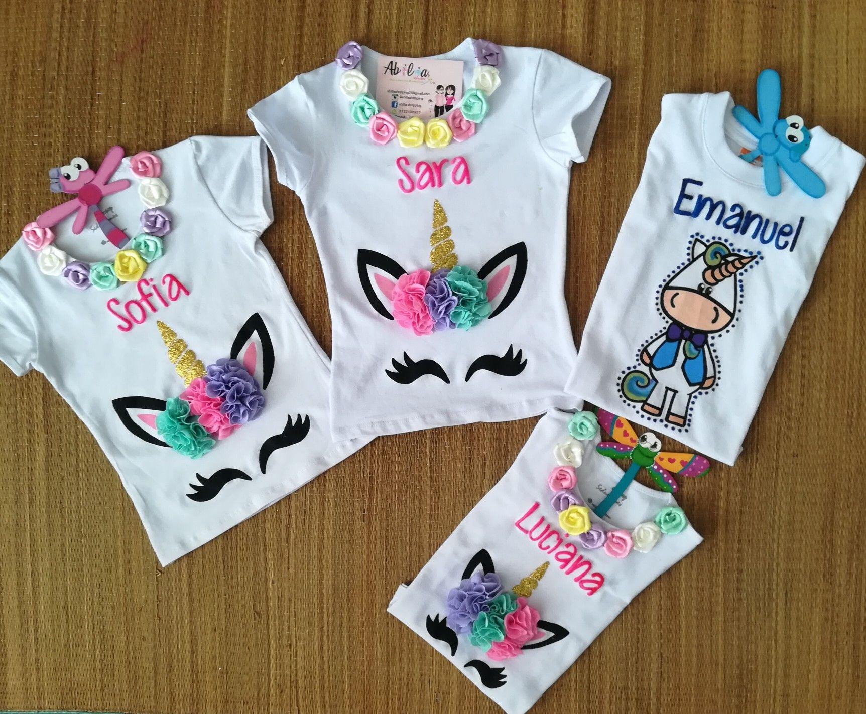 813c89bdeb Blusas y camisetas unicornio Abilia Shopping Whatsapp 3132196957 Mujer  hombre niña