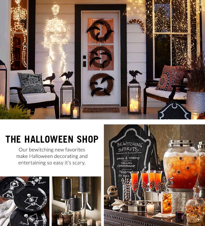 New Halloween Decor Pottery Barn Halloween Decorations