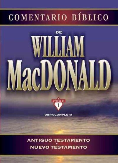 Comentario Biblico De William Macdonald Obra Completa Antiguo
