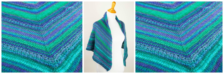 Printable Pattern: Free Knit Prayer Shawl Pattern