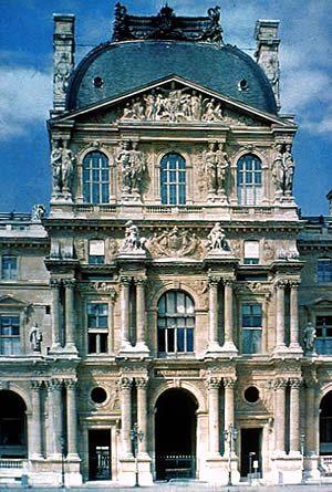 Romanticismo eclecticismo edificio de el lovre Romanticismo arquitectura