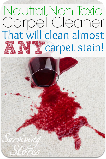 This Homemade Carpet Cleaner Will Clean Just About Any