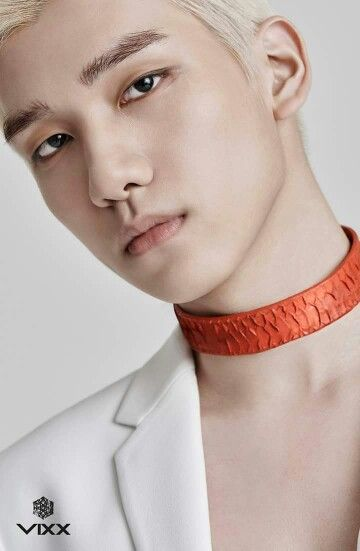 "VIXX Hyuk's individual teaser image for ""Chained Up"" M/V"