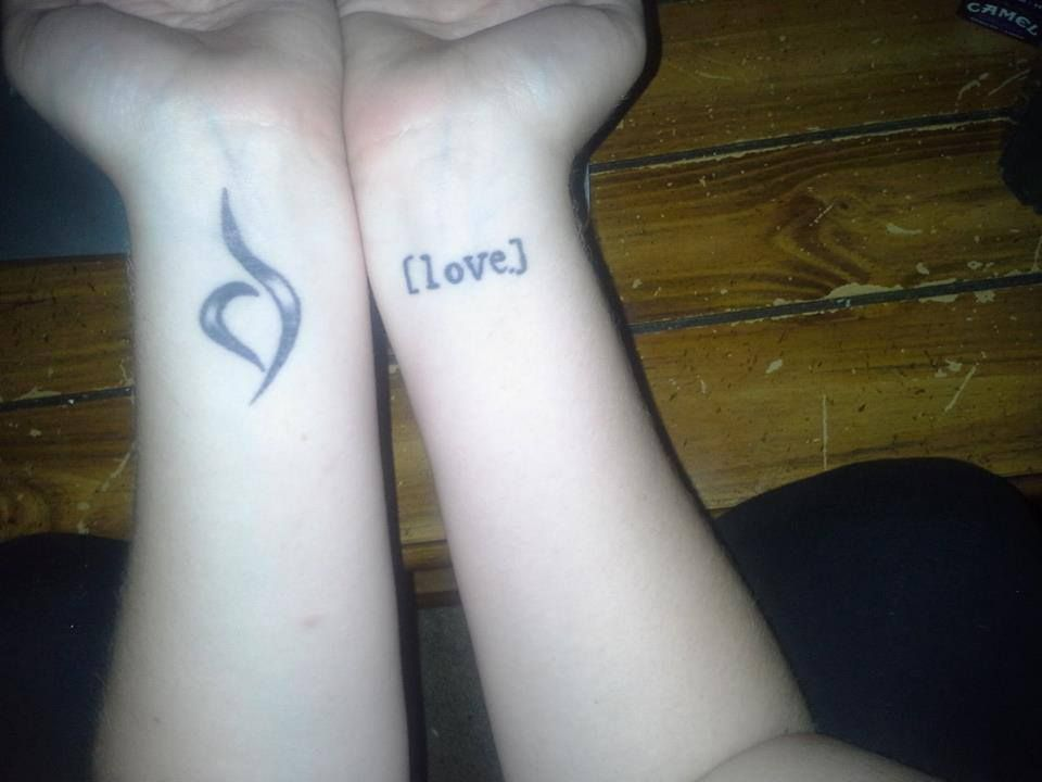 Love It Tattoos Pinterest Bulimia Recovery Symbol Tattoos And