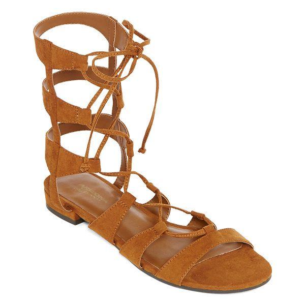 56f07b2ca5bb Arizona Gena Lace-Up Gladiator Sandals - JCPenney