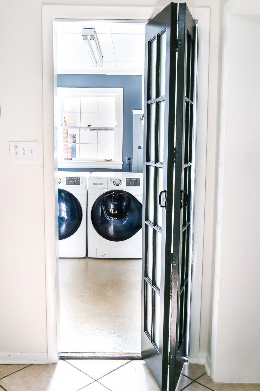 Photo of Waschküche Updates: Französisch Bifold Tür – Bless'er House