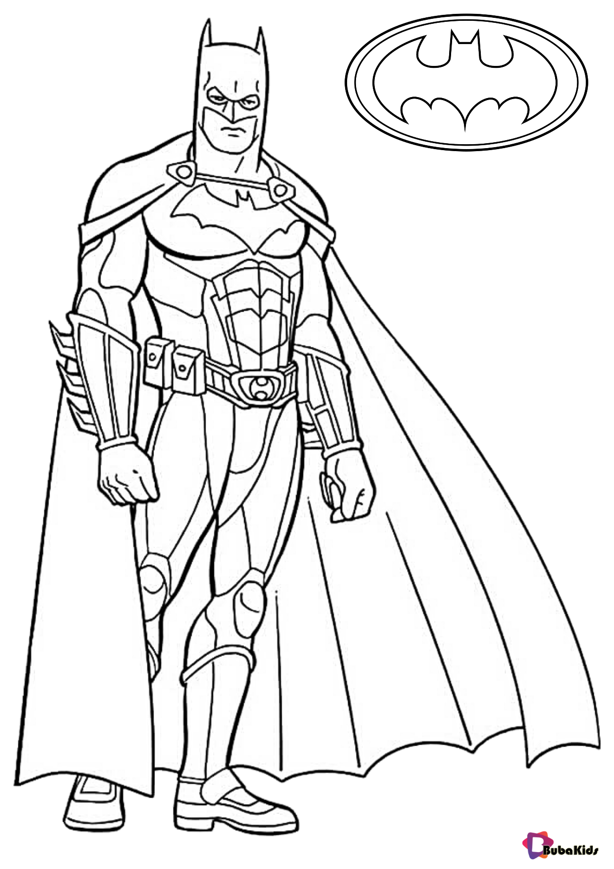 Free Batman Pictures To Color
