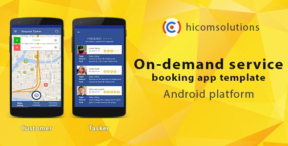 Nulled On Demand Service Booking Android App Template Free Download Download Nulled Nulled On App Template Mobile App Design Templates Mobile App Templates