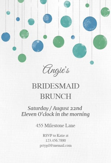 Free Brunch  Lunch Party Invitation Templates Greetings Island - lunch invitation templates