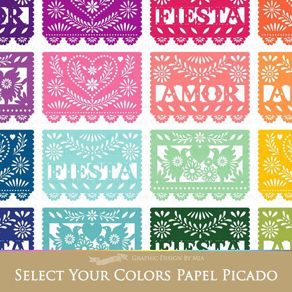 14+ Papel picado clipart free info