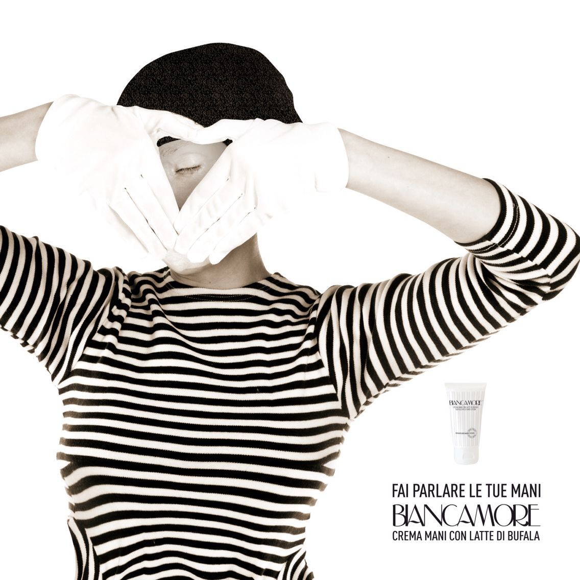 Crema mani Biancamore - adv
