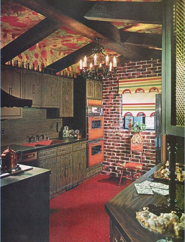 Late 60s into 70s many opted for the dark colors. | 70s ...