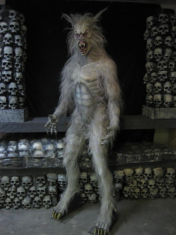 life size movie werewolf prop