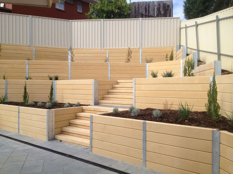 Brighton Concrete Sleepers | Concrete Retaining Walls Adelaide | New ...
