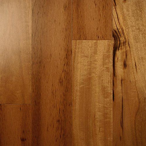 Ark Floors Tigerwood Natural Engineered Hardwood Flooring 5 Inch