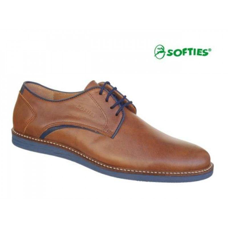 5a1f8eed74b SOFTIES 6888 Ταμπά δέρμα | Ανδρικά παπούτσια | Dress Shoes, Oxford ...
