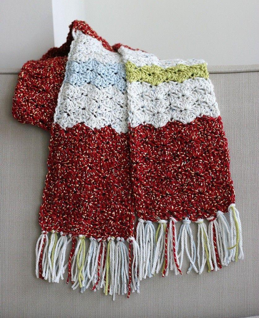 Crochet Men\'s Scarf | Crochet | Pinterest | Scarves, Crochet scarves ...