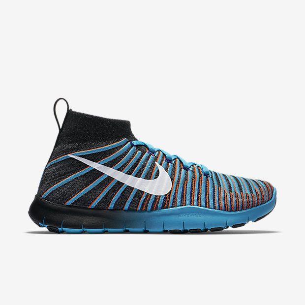 f7d907569c9 Nike Free TR Train Force Flyknit Mens Training Shoes 9.5 Black 833275 010   Nike