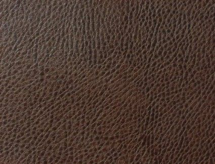 Dark Chocolate Brown Textured Fire Retardant Faux Leather