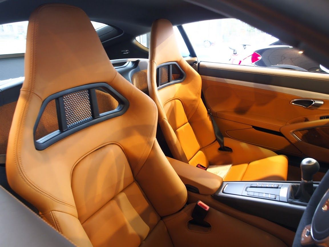 Porsche Amber Orange Owners Orange Tan Beige And Black