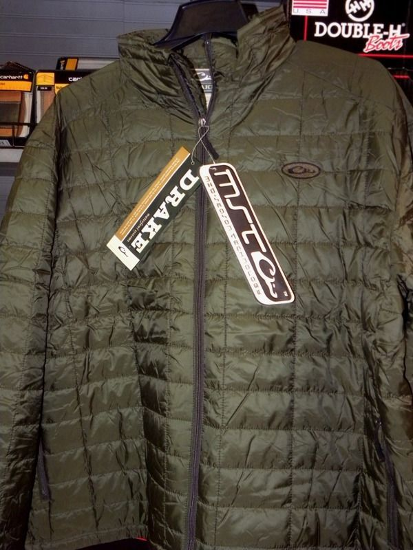 86246ca27821a Drake Waterfowl MST Synthetic Down Jacket SIZE 2XLARGE Style DW1051 Olive  #DrakeWaterfowlSystems