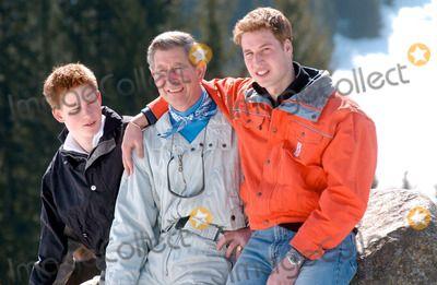 Richard Chambury/alpha 047304 29/03/02 Prince Henry, Prince Charles & Prince William -Royal Skiing Holiday in Klosters, Switzerland. Alpha/Globe Photos