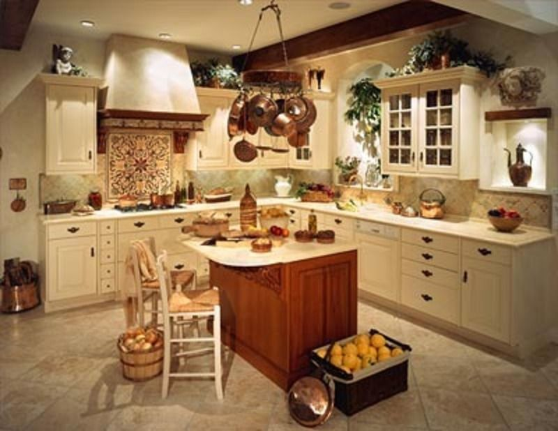 country fashion trends   Italian Country Style Kitchen, Italian ...