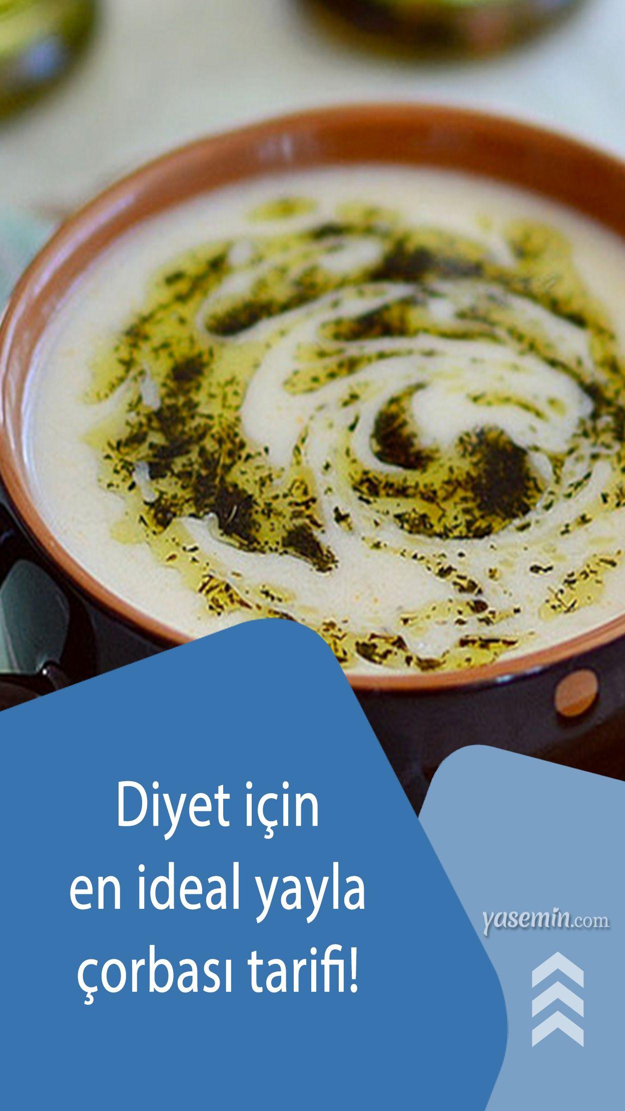 Yayla Corbasi Kilo Aldirir Mi Diyette En Kolay Pirincli Yogurt Corbasi Tarifi Gida Diyet Yogurt