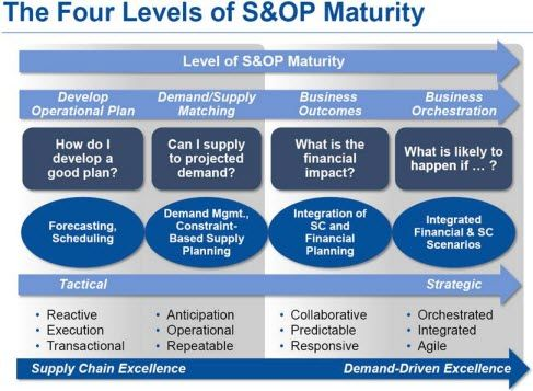 S Maturity Model Strategy Supply Chain Business