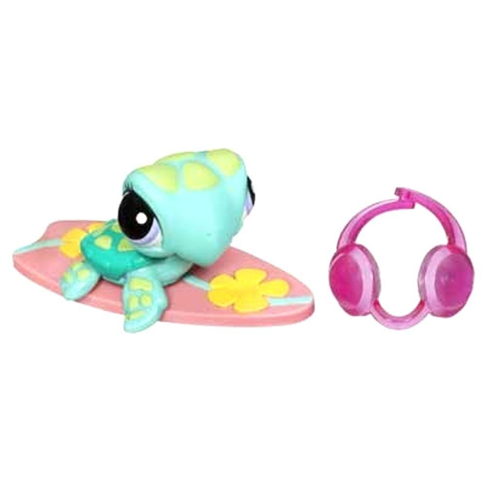 Comes With Goggle And Lily Pad #1325 Littlest Pet Shop Special Edition Sea Turtle