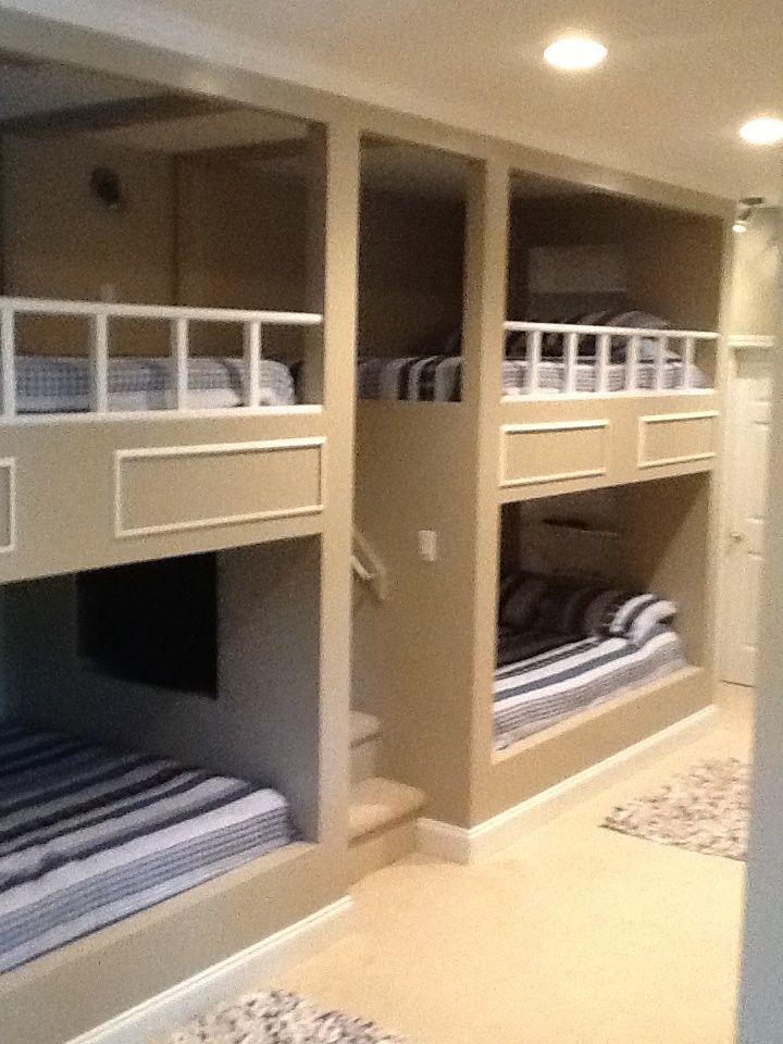 4 Queen Size Bunk Beds Lakehouse Pinterest Bunk Beds Bunk