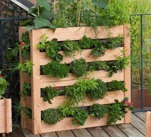 potager vertical en bois botanic potager pinterest balcons bac et potager. Black Bedroom Furniture Sets. Home Design Ideas