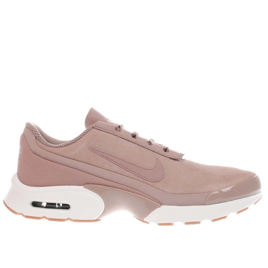 womens pale pink nike air max jewel se trainers | schuh