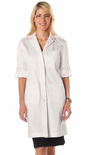 Dr Leslie Designer Labcoats | Women's Lab Coats | Doctor Lab Coats |  Physician Labcoats |