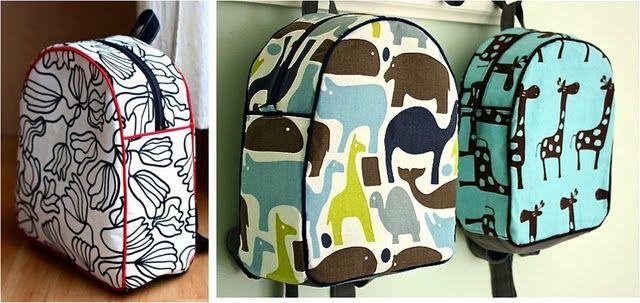 Pattern for DIY Backpacks. | Táskák♧ | Pinterest | Taschen ...