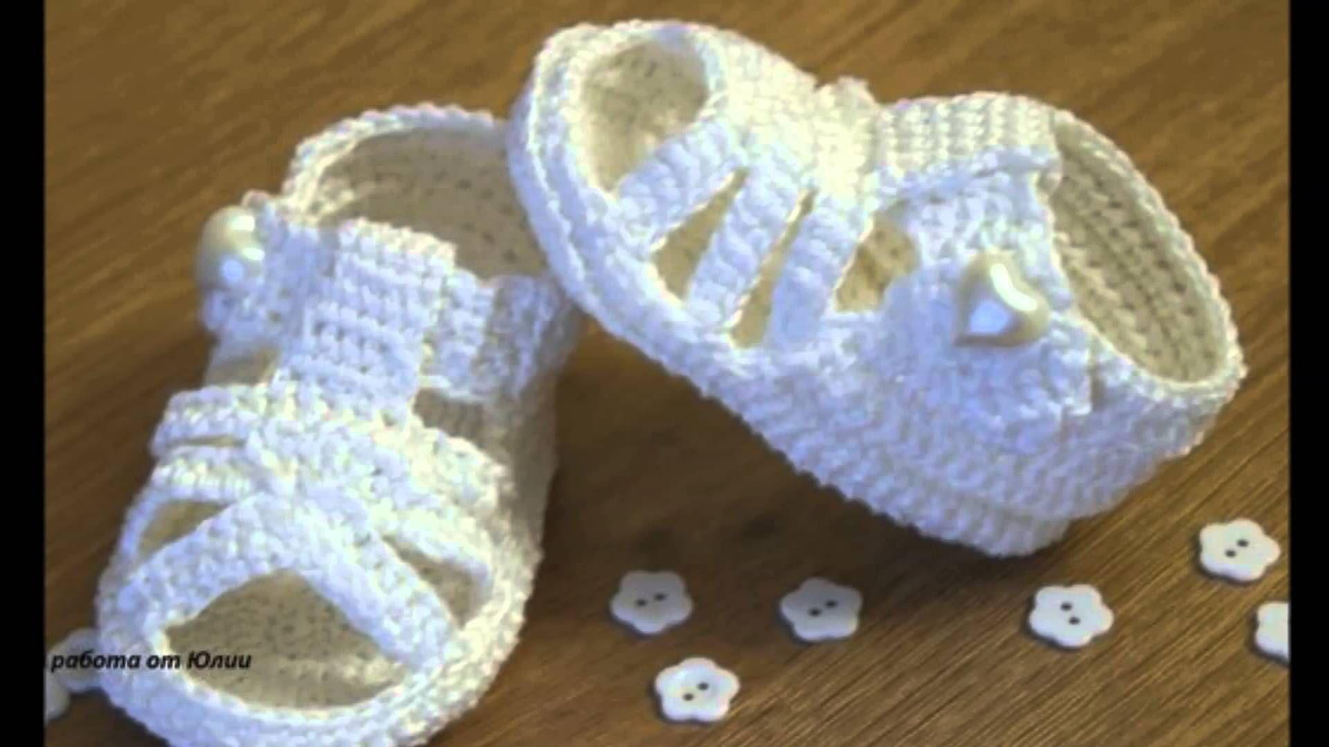 sandalias bebe a crochet | SHOES | Pinterest | Babyschühchen, Socken ...