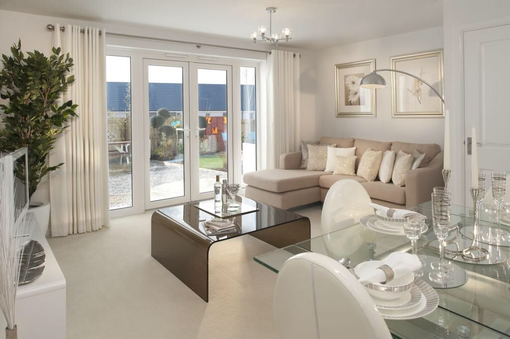 Neutral Lounge Diner Lounge Diner Ideas Living Room Dining Room Combo Living Room Design Modern
