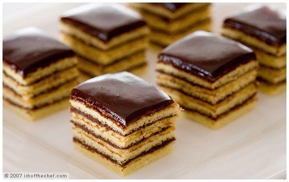 Petite butter cakes recipe