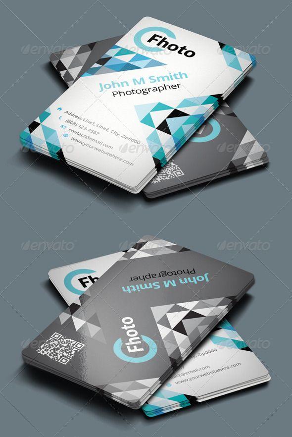 Photographer Business Card | Photographer business cards, Business ...