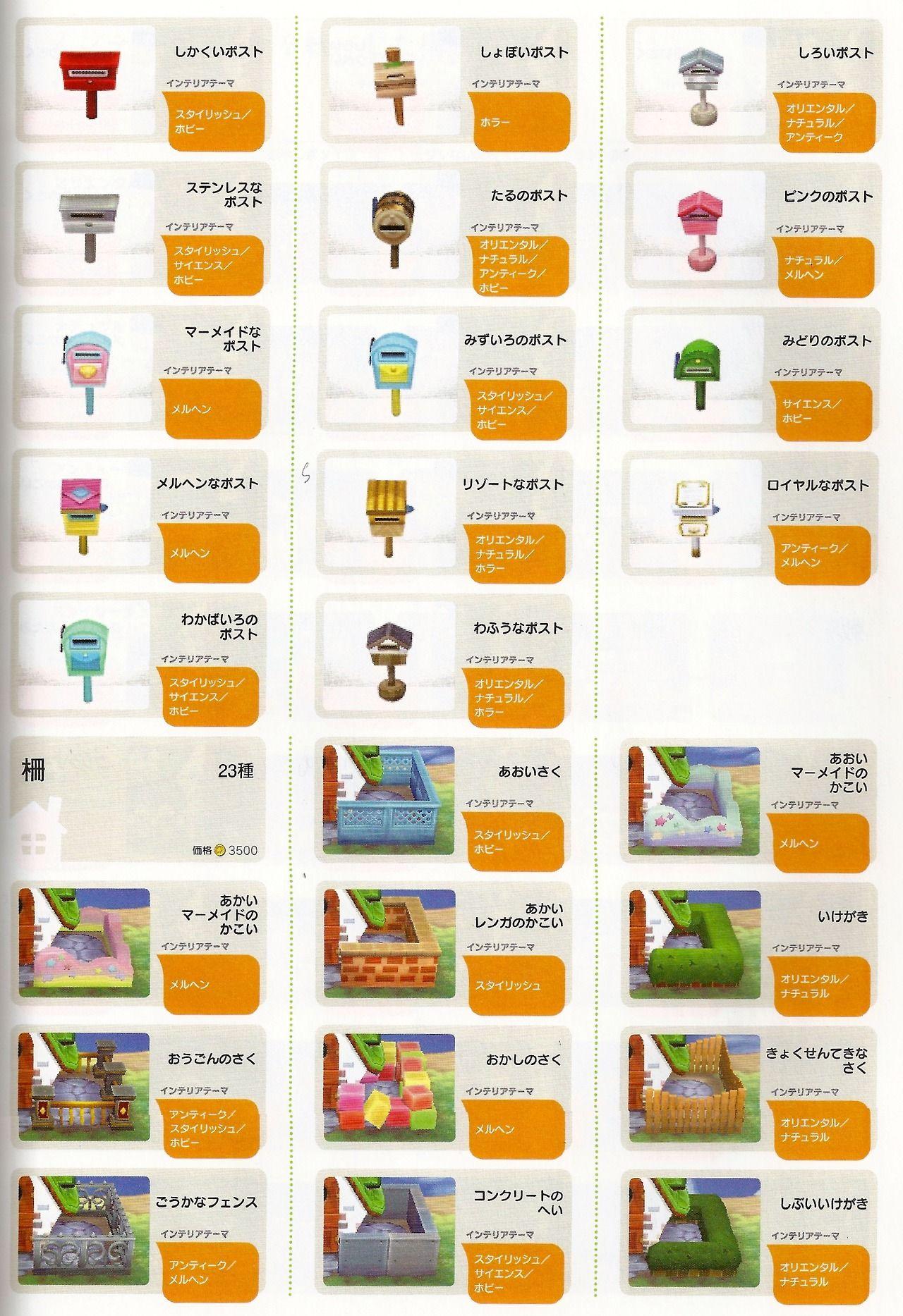 weeradish Animal Crossing New Leaf house exterior options