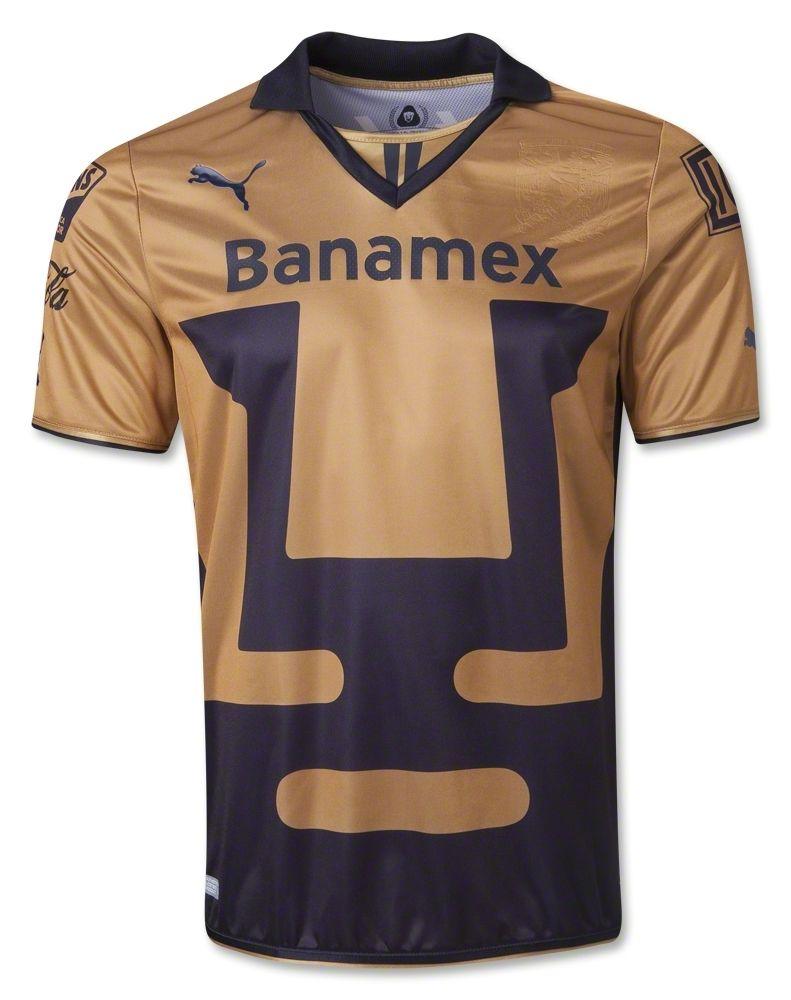 7476483871c1d Pumas UNAM 2013 2014 Away Jersey