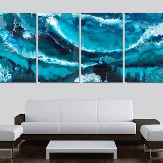 """Rough sea"". Resin on a wooden board #art  #resin #painting #resinista #resinart #wallclocks #contemporaryart #walldecor #walldesign #wallclock #creative #creativeart #creativity #myart #fluidpainting #instaartwork #instaart #instaarts #fluidartist #mixedmedia #artpalooza #instaartist #fineart #abstractart #artlovers #artstagram #resintint #elichem #elichemresins #pooldecor"