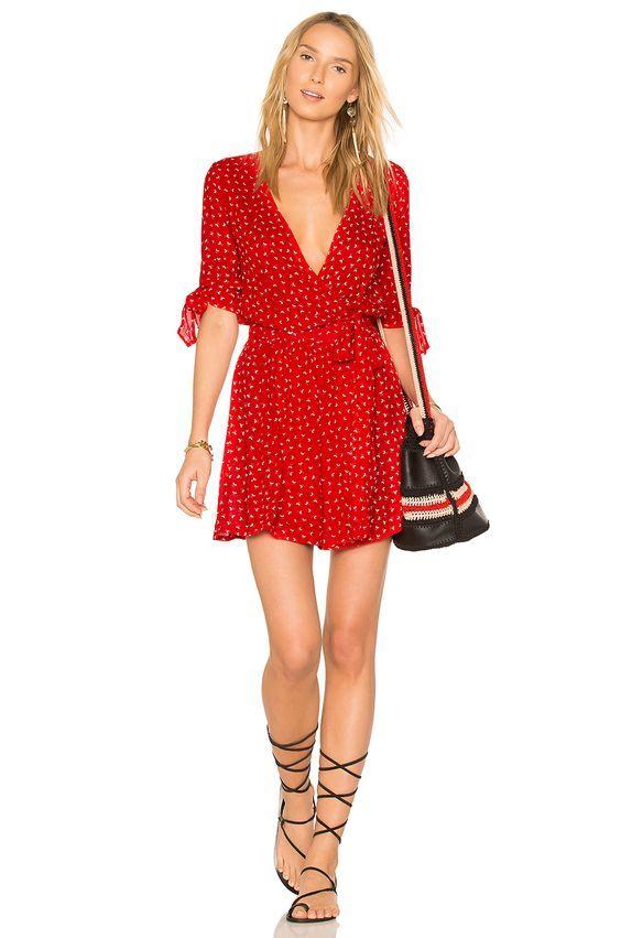 74ab72e9ee72c8 FAITHFULL THE BRAND X REVOLVE Oslo Dress in Rosario Red | revolve ...