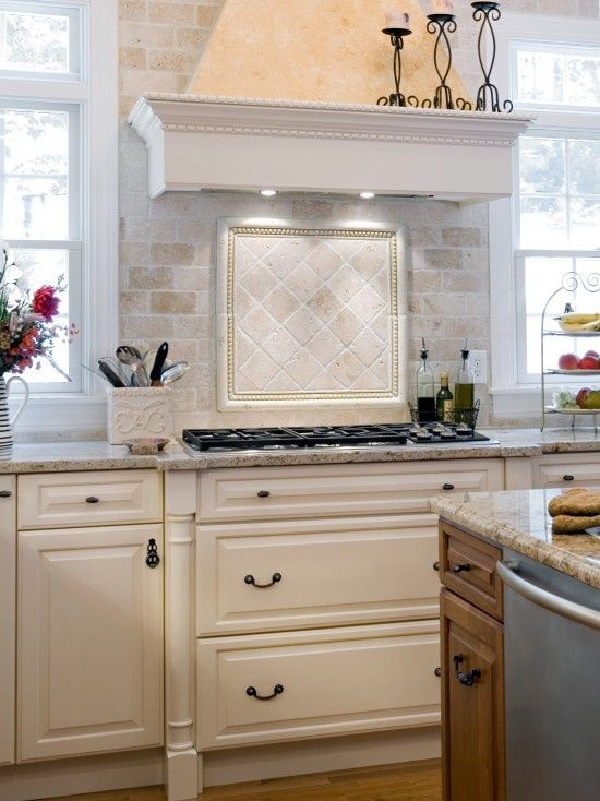 Superb Kashmir White Granite Backsplash Ideas Part - 4: Light Venetian Granite Kitchens | Elegant Venetian Kitchen, Kashmir White  Granite With Light Wood.