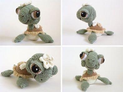 cutest crochet baby sea turtle ever!. #crochetformoney