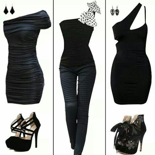 Black Dresse and Jumpsuit