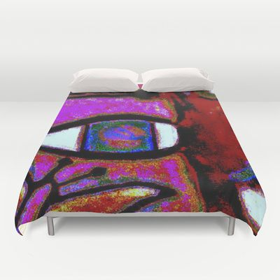 """Butterfly's and I live in peace together enjoying a peaceful nature!   Duvet Cover  / Queen: 88"""" x 88""""    Christa Bethune Smith, Cabsink09 (cabsink09)  Me Butterfly's by Christa Bethune Smith, Cabsink09   . $99.00"""