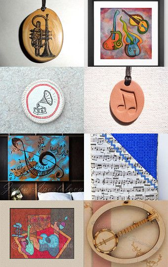 The Music by Olga on Etsy--Pinned with TreasuryPin.com