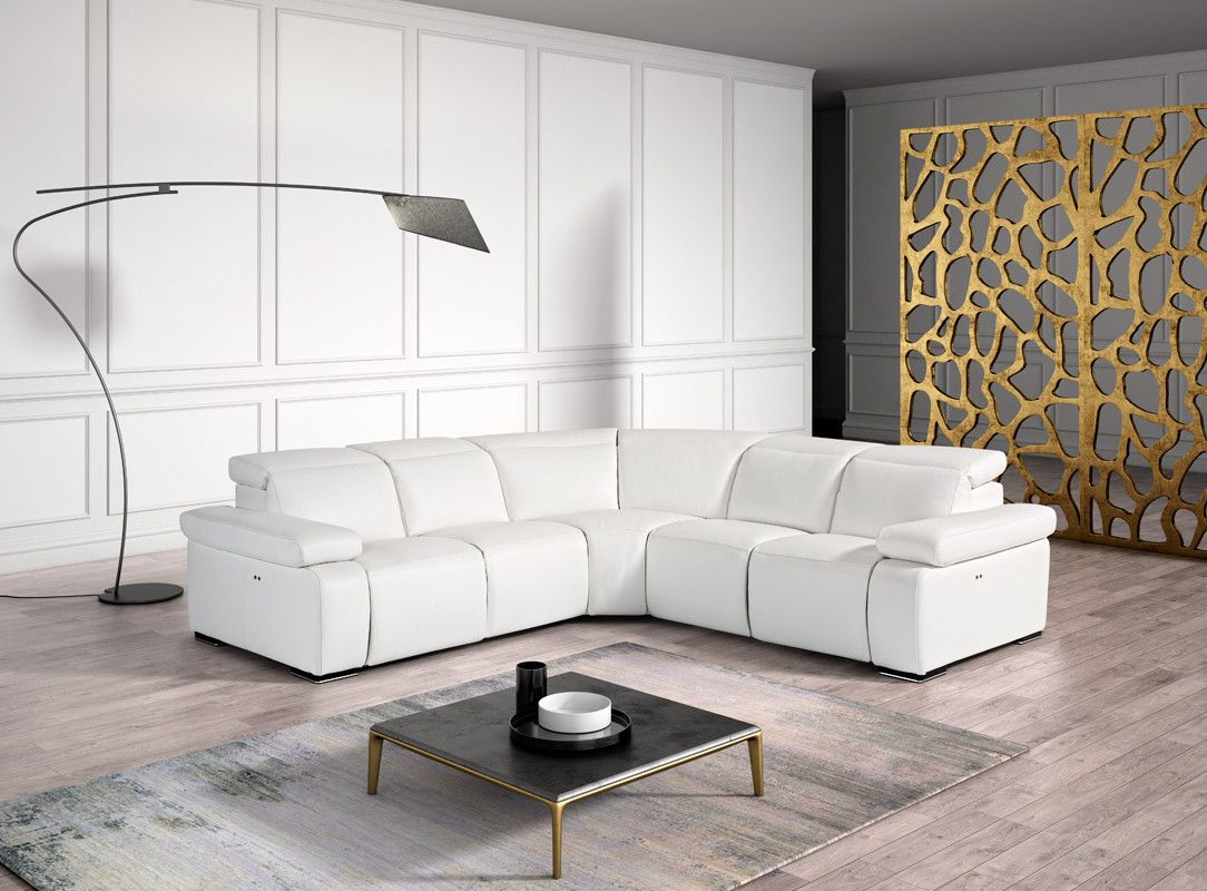 White Leather Sofa Miami In 2020 White Leather Sofas Italian Leather Sectional Sofa Sectional Sofa
