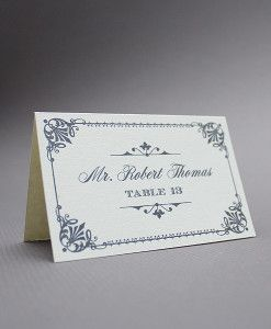 Make Your Own Wedding Invitations Download Print Vintage Place Cards Wedding Place Cards Free Place Card Template
